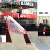 X-Games Practice Session