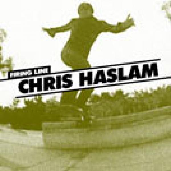 Firing Line: Chris Haslam