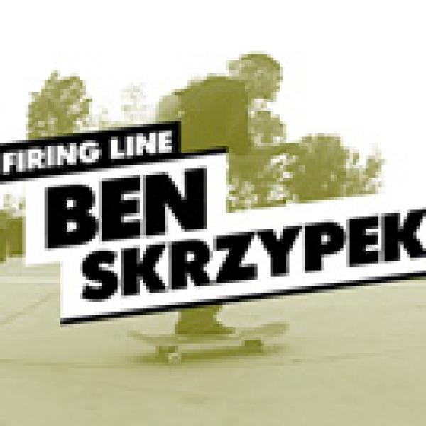 Firing Line: Ben Skrzypek