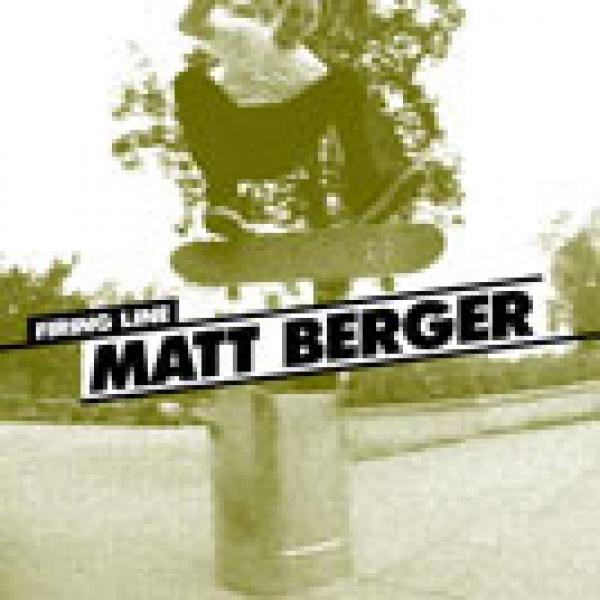 Firing Line: Matt Berger