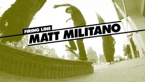 Firing Line: Matt Militano