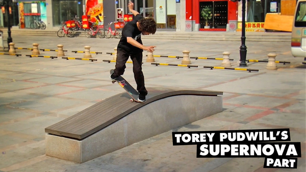 "Torey Pudwill's ""Supernova"" Part"