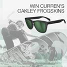 Win Curren's Oakley Frogskins
