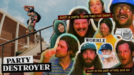 "Worble and Cobra Man's ""PARTY DESTROYER"" Video"