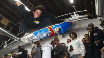 REAL x Huf Photo Show and High-Ollie Contest Video