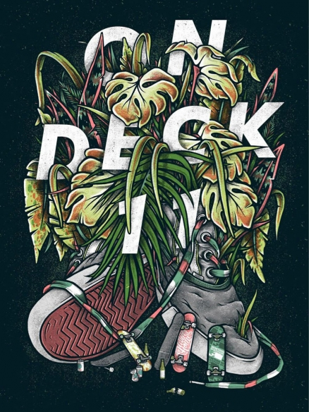 11th Annual ON DECK Skate Art Auction