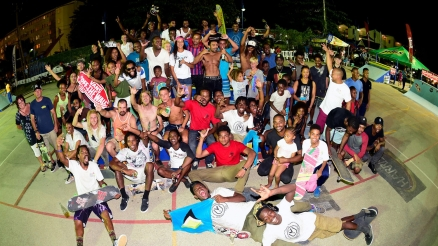 One Movement Skate Contest in Barbados