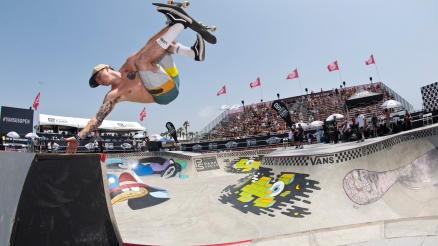 Vans Park Series: Huntington Beach Pro's Winning Runs