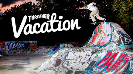 Thrasher Vacation: England