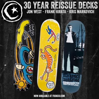 Foundation 30 Year Anniversary Reissue Decks