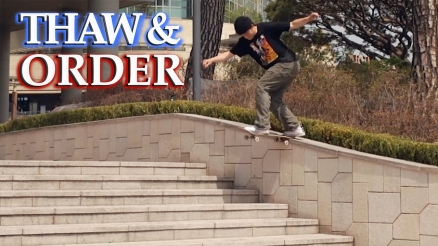 "Jesse Vieira's ""Thaw and Order"" Part"