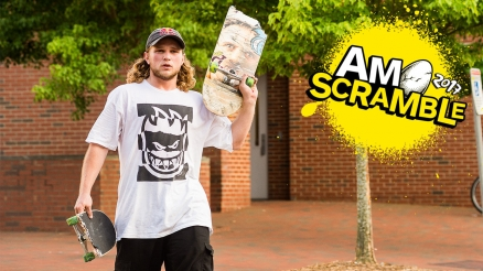 Jamie Foy Am Scramble Interview