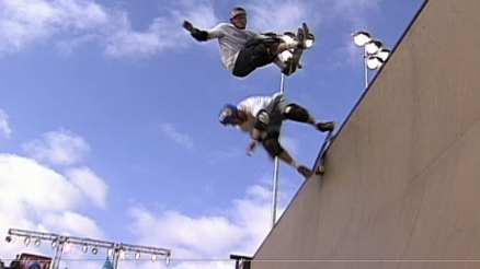 P-Stone's Xmas Cookie: Doubles with Tom Boyle at X-Games