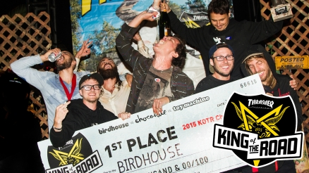Birdhouse Wins 2015 King of the Road!