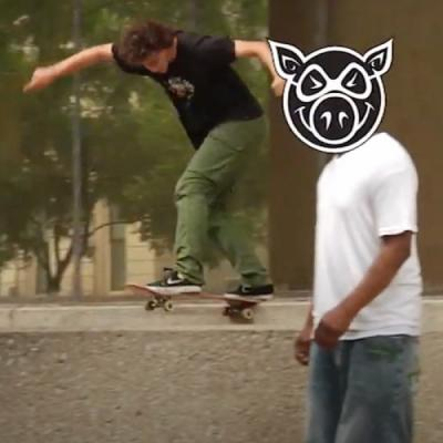 Braden Hoban for Pig Wheels