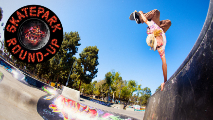 Skatepark Round-Up: Girl Ams