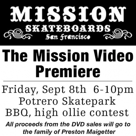 <span class='eventDate'>September 08, 2017</span><style>.eventDate {font-size:14px;color:rgb(150,150,150);font-weight:bold;}</style><br />The Mission Video Premiere