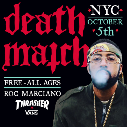 Roc Marciano at Death Match NYC