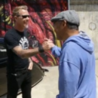 Steve Cab Meets James Hetfield