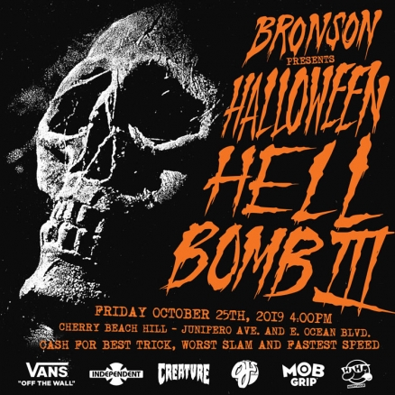 <span class='eventDate'>October 25, 2019</span><style>.eventDate {font-size:14px;color:rgb(150,150,150);font-weight:bold;}</style><br />Halloween Hell Bomb III