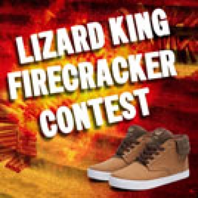 Lizard King's Firecracker Contest