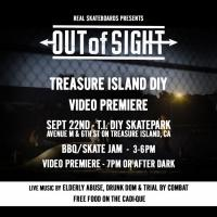 <span class='eventDate'>September 22, 2018</span><style>.eventDate {font-size:14px;color:rgb(150,150,150);font-weight:bold;}</style><br />Out of Sight: Treasure Island DIY Premiere