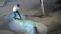 Wax the Coping: Andy Vasquez' Curved Parking Blocks