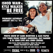 "Ishod Wair and Kyle Walker's ""BE FREE"" Premiere"