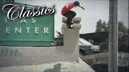 "Classics: Bam Margera's ""Jump Off A Building"" Part"