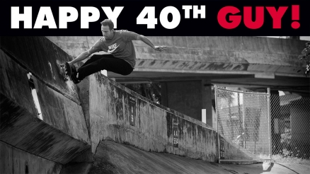 Happy 40th Birthday Guy!
