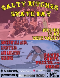 Salty Bitches Skate Day