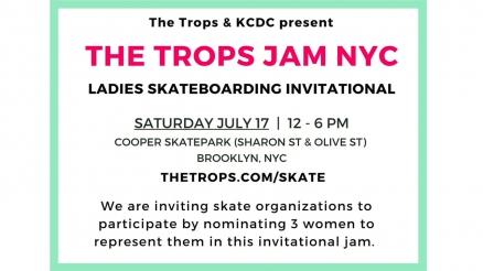 The Trops Jam Ladies Skate Invitational