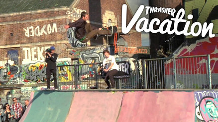 Thrasher Vacation: Yardsale