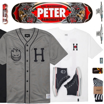 Huf x Spitfire Collab Giveaway