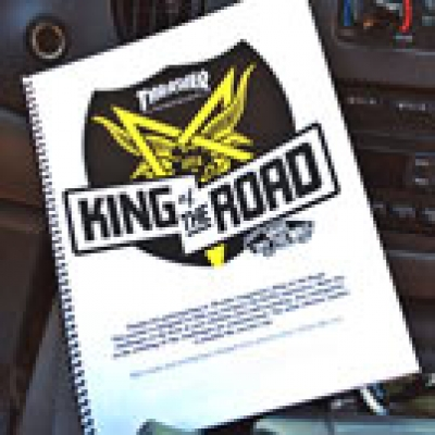 King of the Road 2012: The Book
