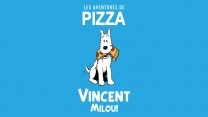 Vincent Milou's Debut Pro Board for Pizza Skateboards