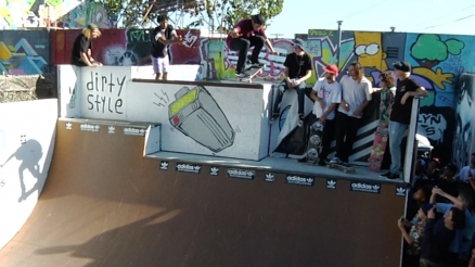 "Brooklyn Projects x adidas' ""Hollywood Throwdown"" Ramp Jam"