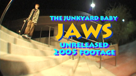 "Jaws' ""The Junkyard Baby"" Part"
