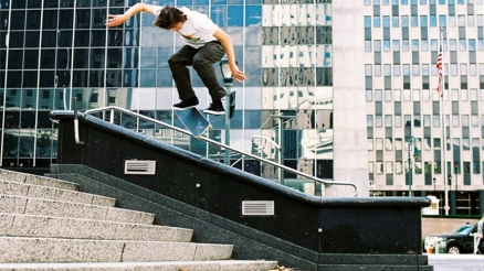 Slam City Skates' Jake Johnson by Jonathan Mehring