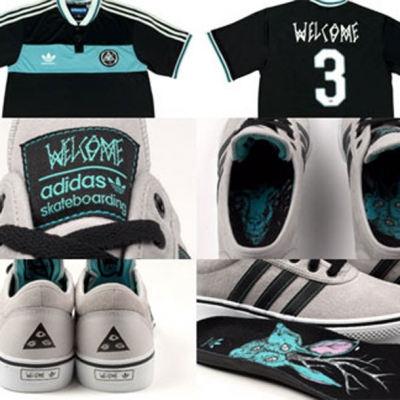 Adidas x Welcome