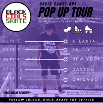 Black Girls Skate Pop Up Tour