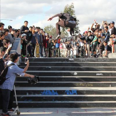 Plan B Demo at Cardboard Skateshop