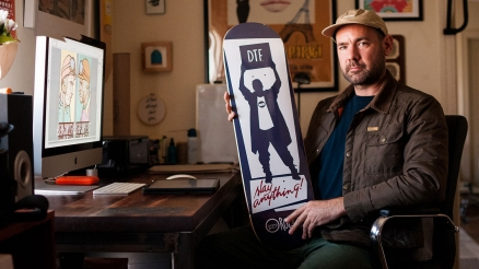 Wax The Coping: Josh Row's Epic Art Endeavor