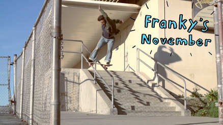 "Franky Villani's ""November"" Part"