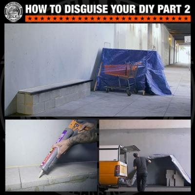 How To Disguise Your DIY
