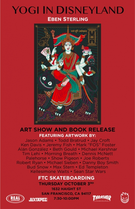 """Yogi in Disneyland"" Book Release and Art Show"