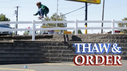 "Ryan Connors' ""Thaw and Order"" Part"