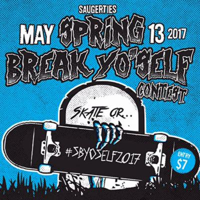 <span class='eventDate'>May 13, 2017</span><style>.eventDate {font-size:14px;color:rgb(150,150,150);font-weight:bold;}</style><br />Spring Break Yo' Self Contest