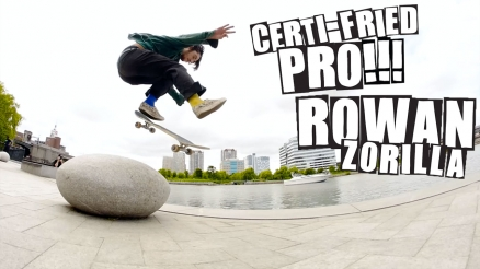 "Baker Presents ""Certi-Fried Pro Rowan Zorilla"" Part"