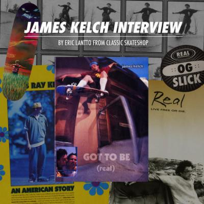 "Real Skateboards: James Kelch ""Flyer"" Interview"